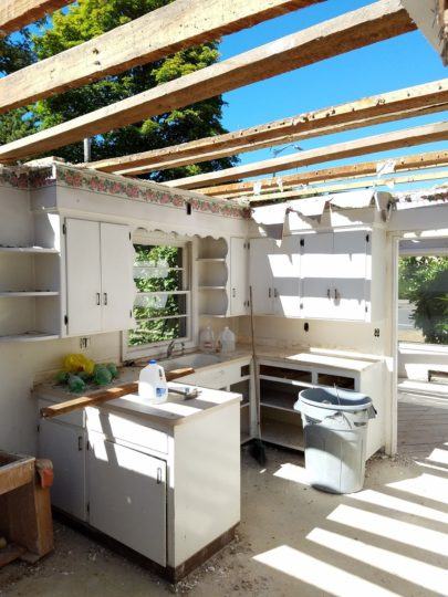 Kitchen recycled