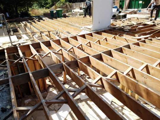19 Joists recycled