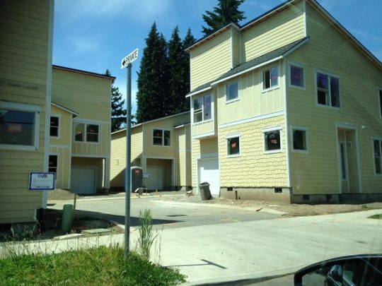 2. Houses in progress