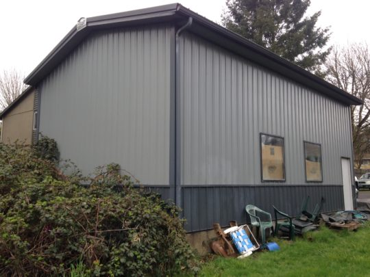22 Old metal workshop