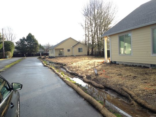 3. Homes almost finished