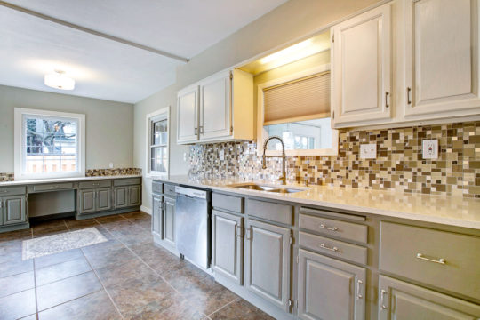 4 Renovated kitchen
