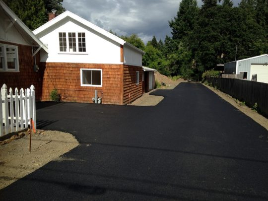 5 Flag driveway finished
