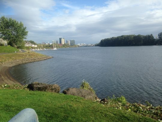 6 Willamette River 4-5 min walk away