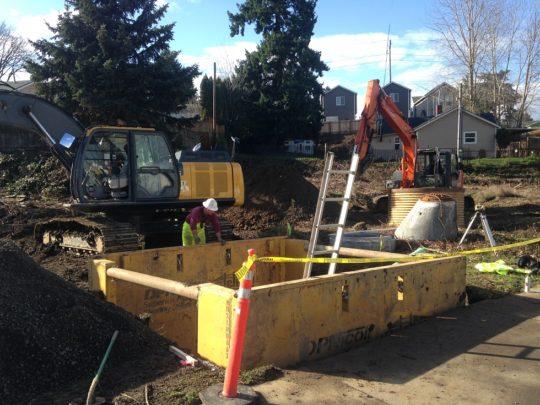 9 Manhole shoring